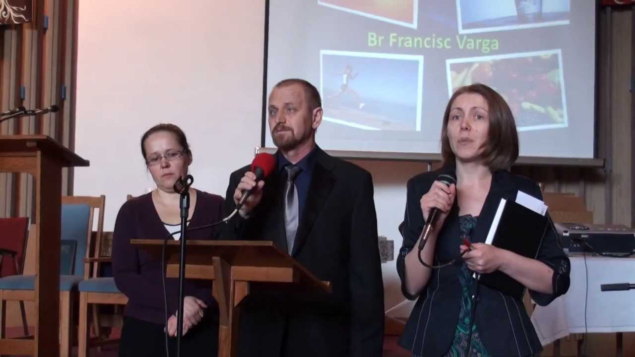 Francisc Varga, Testifying God's healing power – Richmond SDA Church
