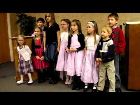 Jesus ABC – Copiii Biserici Adventiste Detroit,Mi