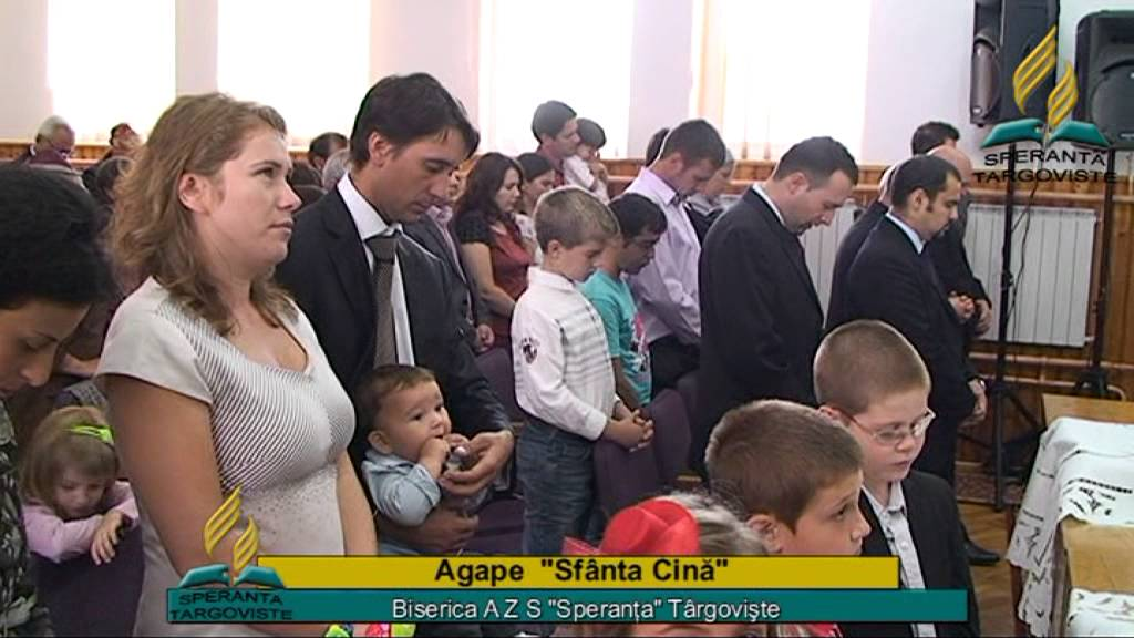 Agape  Sfanta Cina Biserica Speranta Targoviste
