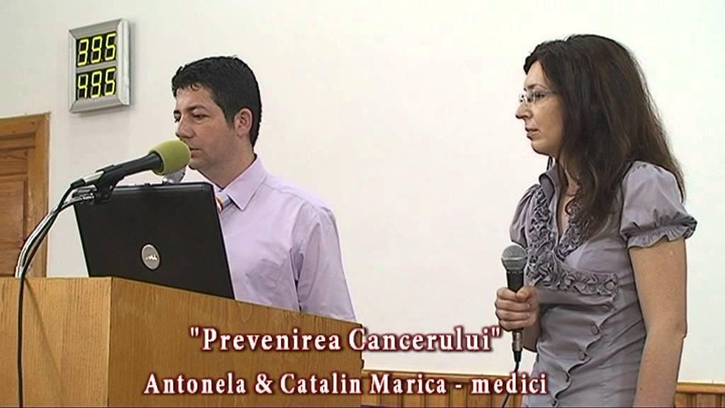 Antonela & Catalin Marica – Prevenirea Cancerului