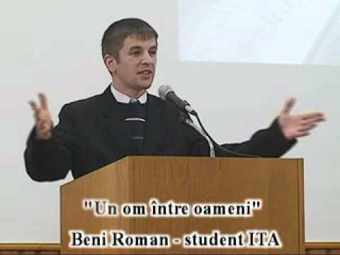 Beni Roman – Un om intre oameni