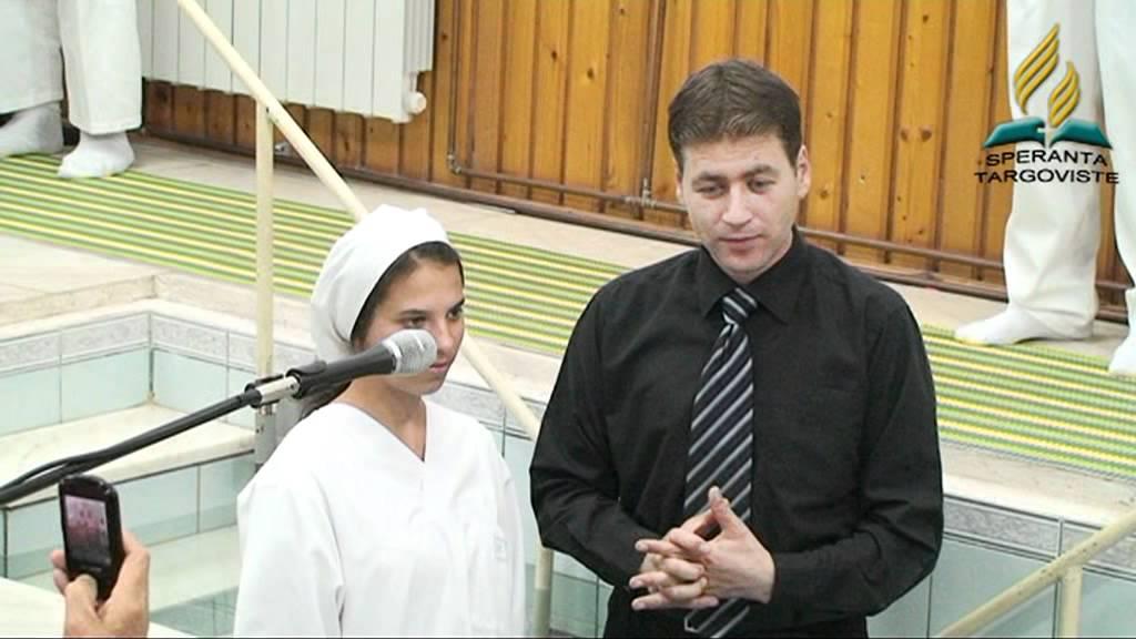 "BotezBiserica Adventista  ""Speranta"" Targoviste"