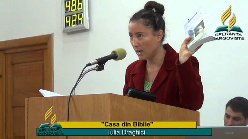 Casa din Biblie                       …………. Iulia Draghici