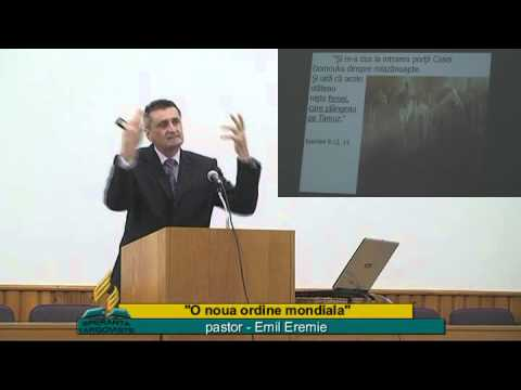 Emil Eremie – O noua ordine mondiala