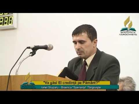 Ionel Stuparu_Va gasi El credinta pe Pamant