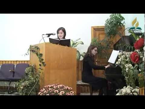 Iulia Draghici – Ziua recunostintei Program tineret