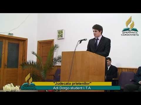 Judecata Prietenilor _  Adi Dorgo
