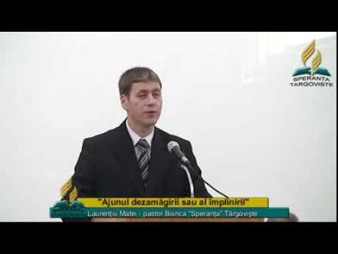 Laurentiu Matei – Ajunul dezamagirii sau al implinirii