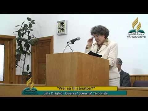 Lidia Draghici – Vrei sa fii sanatos