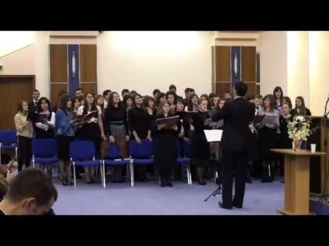 Mi-e dor de cer – Corul Liceului Teologic București