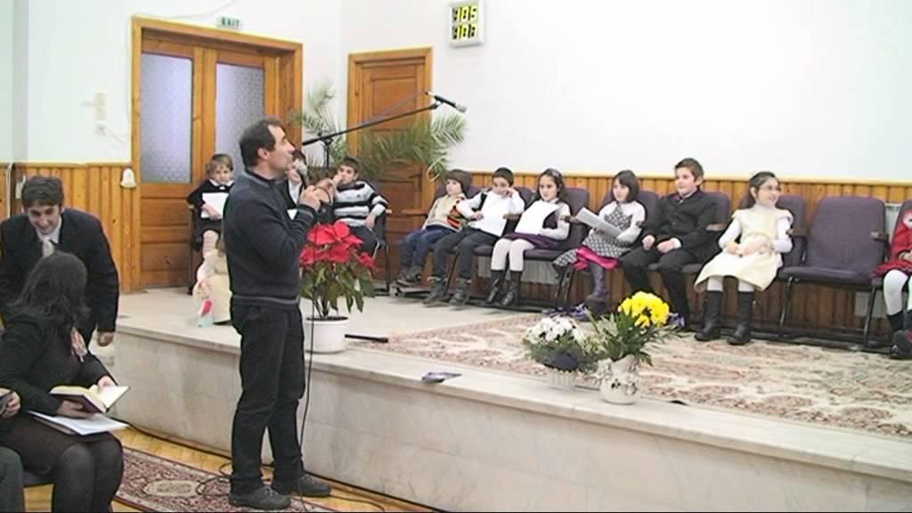 Program copii – Nasterea Domnului ( 21 Dec 2013 ).