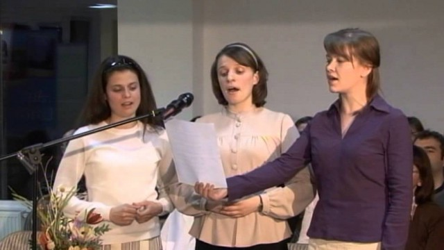 Domnul e pastorul meu cel bun_Trio – Cristina, Vivi, Simona