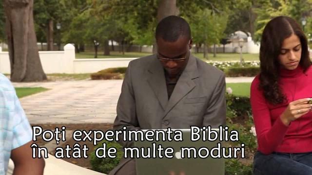 Experimenteaza Biblia