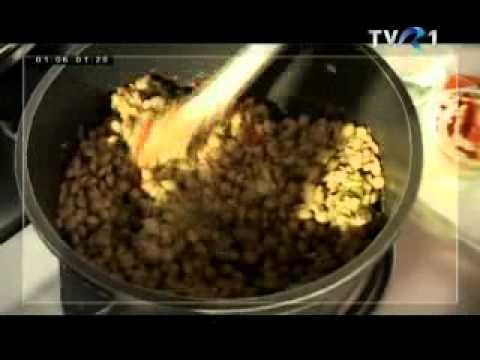 Vega Video 8. — Lencsés spagetti — Spaghete cu linte