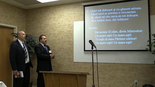 04/19/2014 – Hristos a Inviat – program muzical,by Romanian SDA Detroit. – Predica lui Dumnezeu – Pastor Sergiu Butnaru