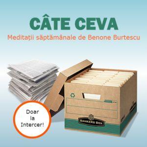 CÂTE CEVA – Benone Burtescu