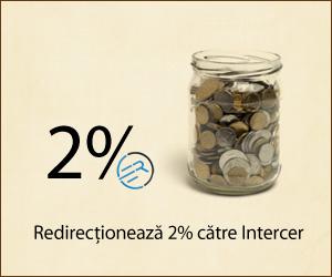 25 Mai – Redirectionati 2% din impozitul pe profit catre Intercer! Sustineti Intercer prin donatii si abonamente!