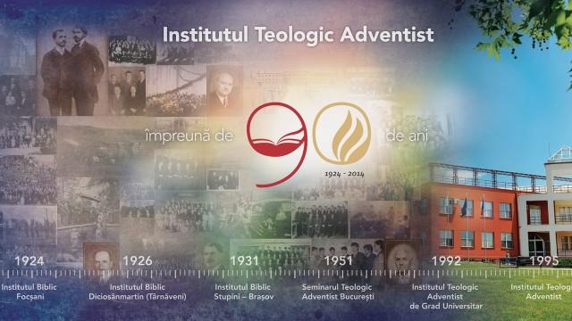 """""""Istoria de 90 de ani a Institutului Teologic Adventist demonstreaza seriozitate, concept si pasiune pentru educatie si spiritualitate"""""""