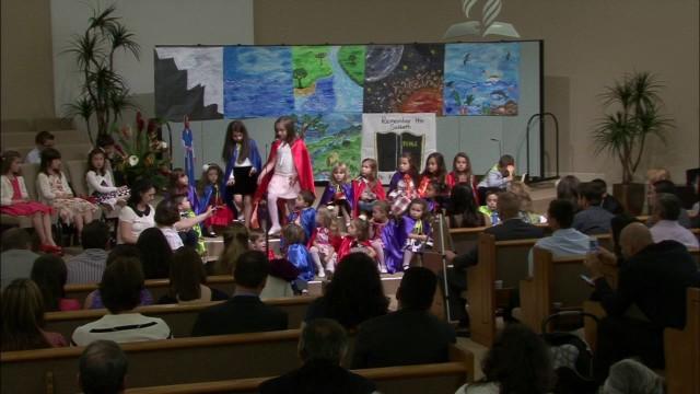 MAI 17, 2014  –  Sabat dimineata  –  Program Copii  –  Creatiunea