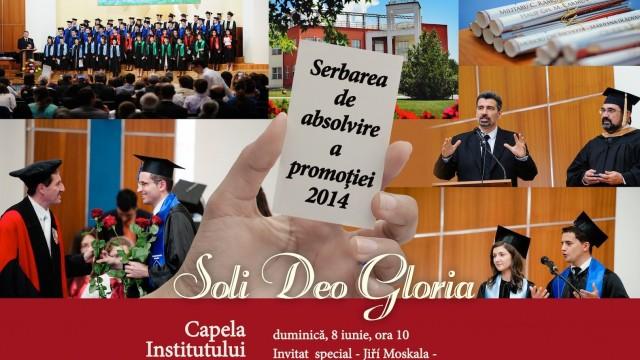 Serbarea de absolvire a promotiei 2014 la Institutul Teologic Adventist