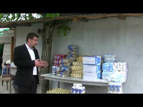 Libraria Maranatha a oferit alimente pentru 40 de batrani ai strazii