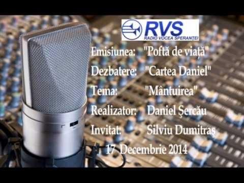 "RVS ""Cartea Daniel: Mantuirea"" -Daniel Sercau"