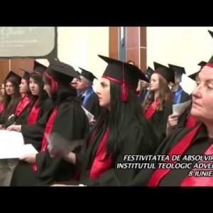 Festivitatea de absolvire 8 iunie 2014