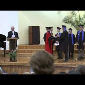 Reportaj despre festivitatea de absolvire la Institutul Teologic Adventist – promotia 2015