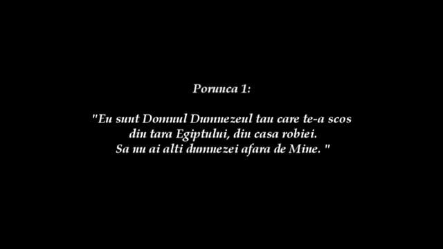 RVS: Porunca 1- Daniel Sercau