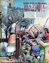 hazael ordona atacul impotriva israelului