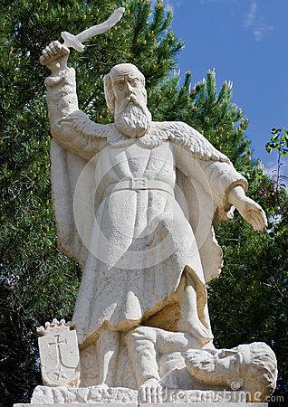 prophet-elijah-statue-mukhraka-israel-33433197