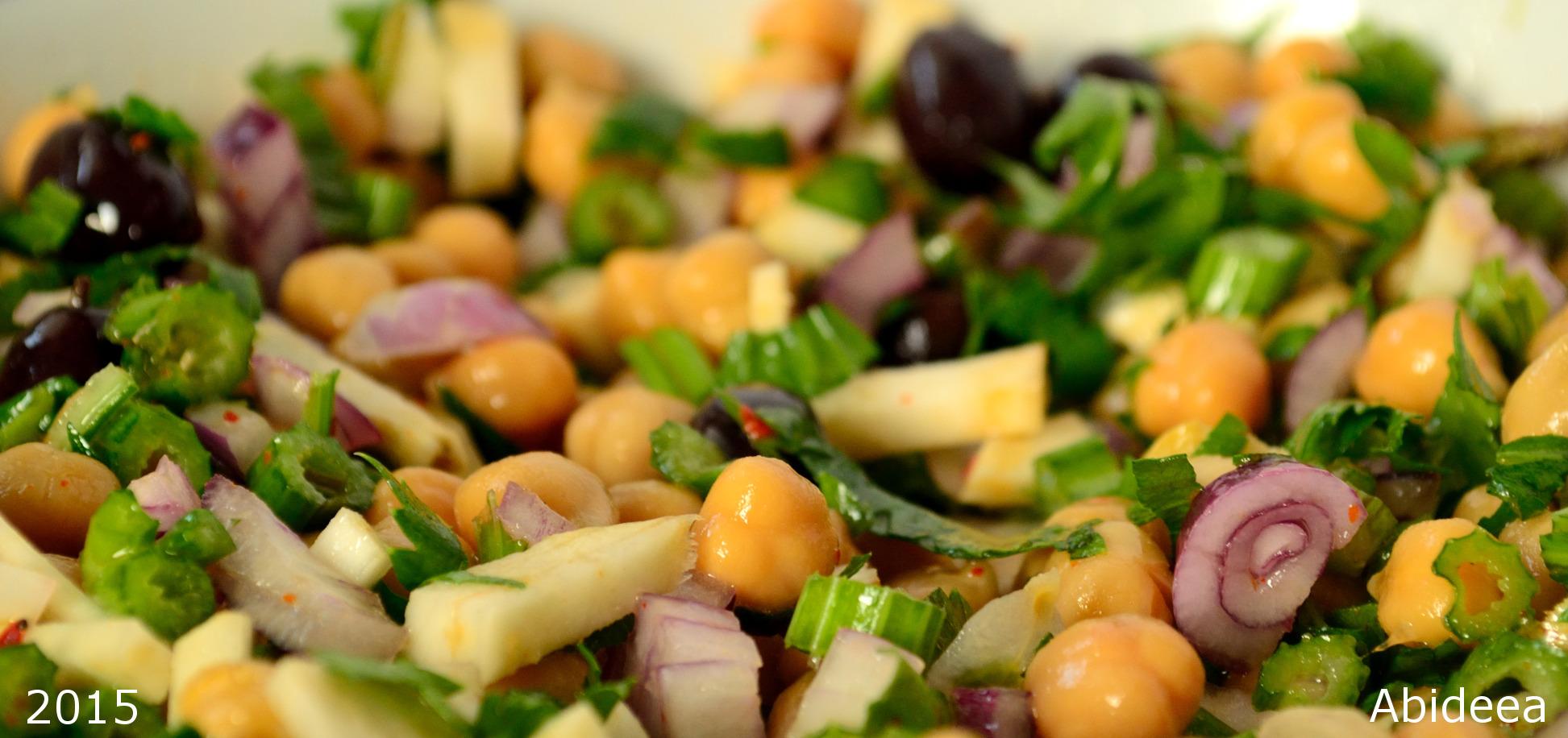 salata de naut cu telina