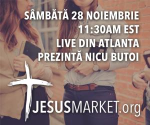 Jesus Market - Nicu Butoi, live din Atlanta, Sambata 28 Noiembrie 2015