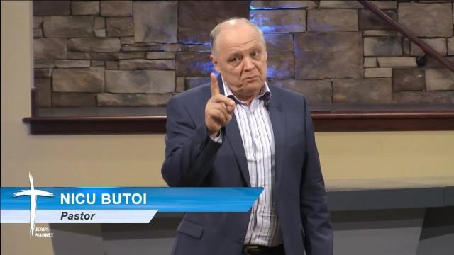 Noiembrie 21, 2015 – Sabat dupa-amiaza – Nicu Butoi – Doamne, Da-mi Aceasta Apa!