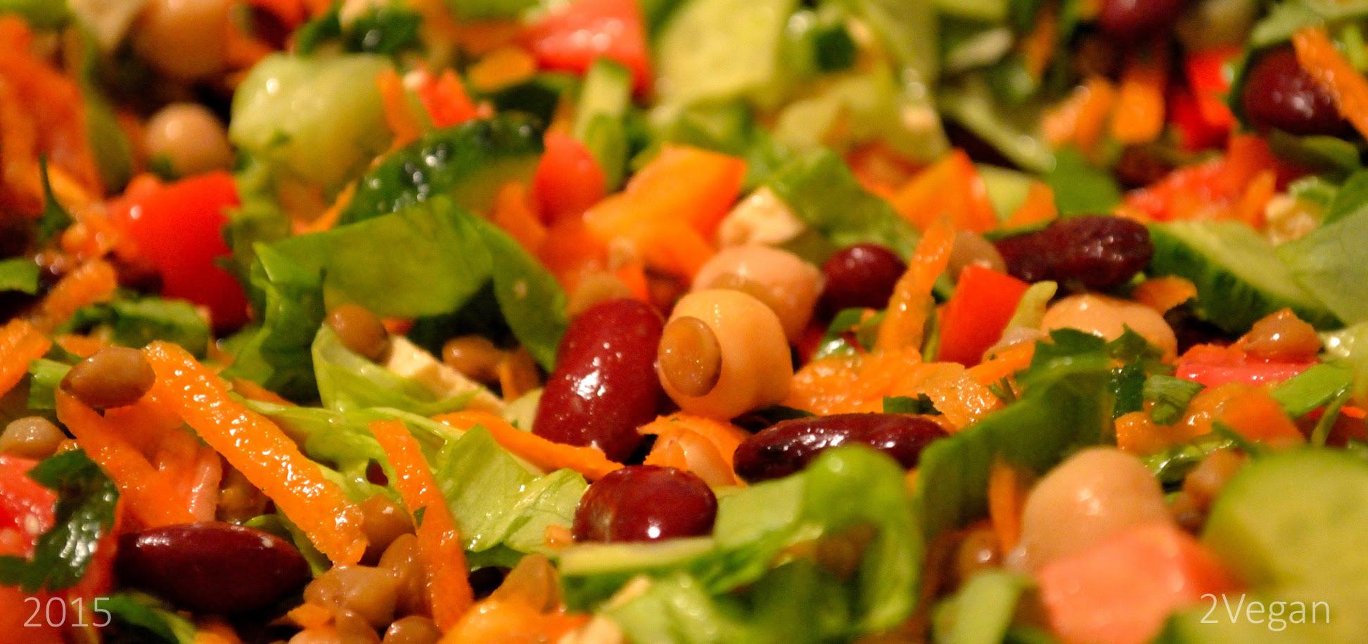 salata de leguminoase
