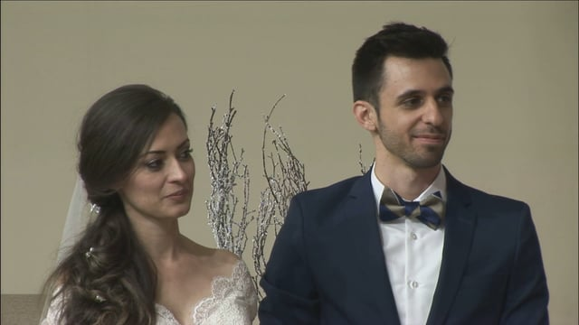 Cristiane & Alex Niculaescu Wedding Ceremony December 20, 2015
