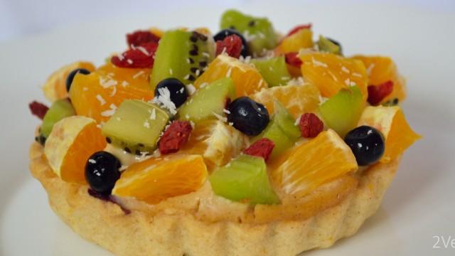 Mini-tartă cu fructe
