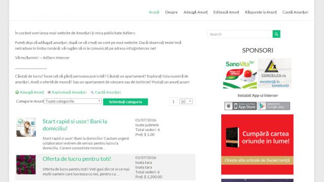 AdServ :: Noul website de mică publicitate și reclame