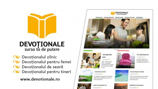 Invitatie la studiu: www.devotionale.ro – un nou site pentru studiul personal