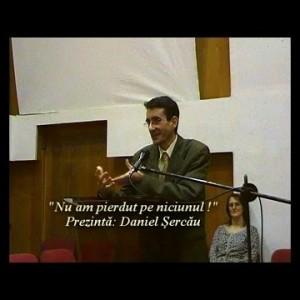 """Nu am pierdut pe niciunul !"" Daniel Sercau"
