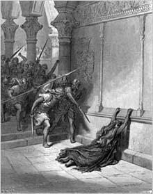 Athaliah-slain