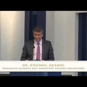 Promisiunea Duhului Sfant – Dr. Emanoil Geaboc (17/01/2015)