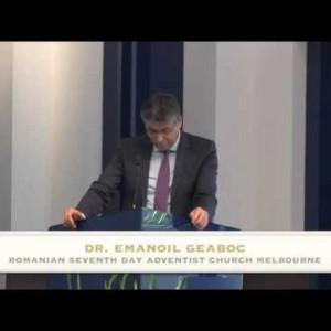 Psihologia Ca Spiritism In Timpul Sfarsitului – Dr. Emanoil Geaboc (29/08/2015)