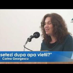 Corina Georgescu – Însetezi după apa vieții?