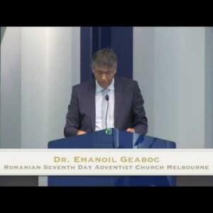 Acolo unde este comoara noastra este si inima noastra – Dr. Emanoil Geaboc (13/02/16)