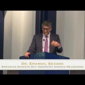 Sabatul a fost facut pentru om (pt 2) – Dr. Emanoil Geaboc (09/01/16)