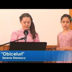 Serena Stanescu – Obiceiuri