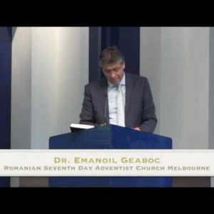 Ziua si Ceasul pt 1 – Dr. Emanoil Geaboc (31/10/15)