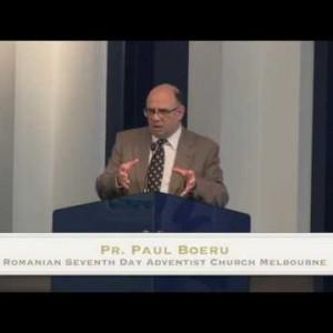 Adventisti ai vechiului testament: Iosif – Pr. Paul Boeru (09/01/16)