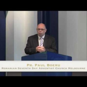 Cultura Adventista si Cultura Bibliei – Pr. Paul Boeru (07/11/15)
